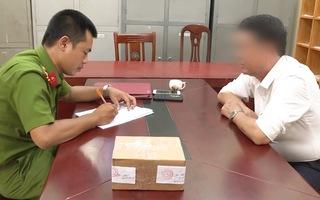 Vụ dùng súng uy hiếp tài xế ở Bắc Ninh: Công an thu giữ 1 khẩu súng, 2 viên đạn cao su, 1 viên đạn hơi cay