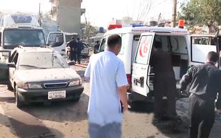 Video: Phó Tổng thống Afghanistan thoát chết trong gang tấc sau vụ đánh bom