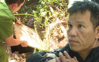 Video: Bắt 'siêu trộm' trữ 4 khẩu súng, đào hầm trú ẩn