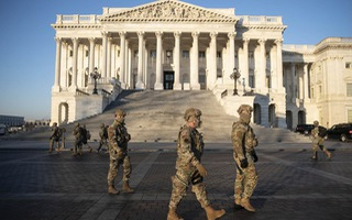Video: Hơn 21.000 Vệ binh Quốc gia được triển khai để bảo vệ lễ nhậm chức của ông Joe Biden