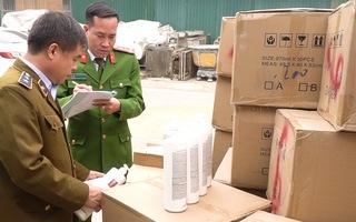 Video: Thu giữ 5 tấn dầu gội 'hàng hiệu' không rõ nguồn gốc xuất xứ