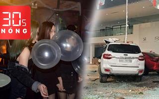 Bản tin 30s Nóng: Khởi tố nữ tài xế lao xe vào showroom; Đề xuất cấm sử dụng khí cười trong vui chơi