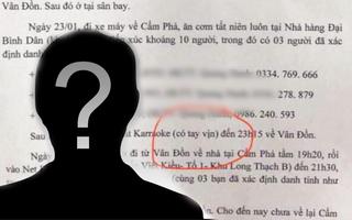Video: Truy tìm người soạn văn bản giả nói ca nhiễm COVID-19 ở Quảng Ninh đi hát karaoke có 'tay vịn'