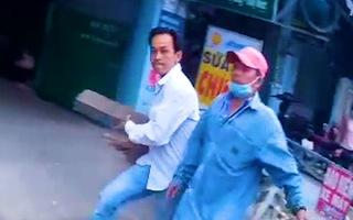 Video: Tài xế Gojek bị đánh ở gần bến xe An Sương