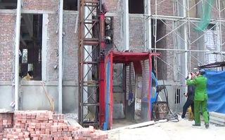 Video: 3 người tử vong do rơi vận thăng công trình trụ sở Sở Tài chính Nghệ An