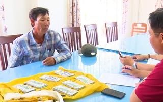Video: Tạm giữ người vác 86.000 USD băng đồng sang Campuchia để nhận 200 ngàn tiền công