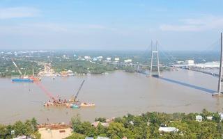 Video: Dự án cầu Mỹ Thuận 2 tăng tốc để năm 2023 người dân có cầu mới đi lại