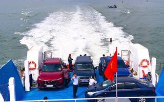 Video: Tuyến phà biển Cần Giờ - Vũng Tàu đi vào hoạt động, người dân qua lại chỉ 30 phút