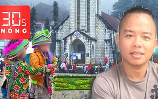 Bản tin 30s Nóng: Điều tra vụ nổ súng vào xe 'giang hồ mạng'; Sa Pa kêu gọi không mua hàng của trẻ em