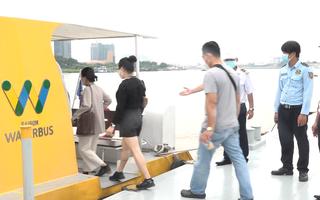 Video: Tuyến buýt trên sông hoạt động trở lại sau nhiều tháng bị tạm ngưng tại TP.HCM