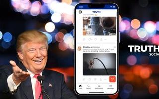 Video: Mạng xã hội mới của ông Trump bị tin tặc tấn công, đăng ảnh tục tĩu