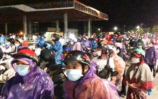 Video: Hầm Hải Vân đã mở cửa đón đồng bào về quê
