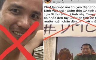 Video: Liên quan đoạn ghi âm cắt ghép của đại tá Đinh Văn Nơi, an ninh điều tra đã khởi tố vụ án