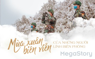 Mùa xuân biên viễn của những người lính biên phòng