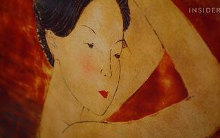 Video: Tranh sơn mài của Việt Nam lên kênh quốc tế vì... có bức gần 1 triệu USD