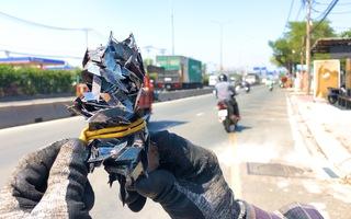 Video: Sau Tết Nguyên đán, tái diễn nạn rải đinh trên quốc lộ 1 qua TP.HCM