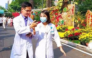 Video: Đường hoa xuân bệnh viện giúp bệnh nhân vơi bớt nỗi buồn bệnh tật