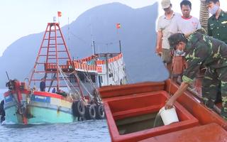 Video: Bắt tàu chở 180 ngàn lít dầu DO không rõ nguồn gốc