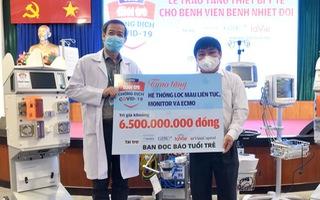 Video: Trao tặng thiết bị y tế trị giá 6,5 tỉ đồng cho Bệnh viện Bệnh nhiệt đới TP.HCM
