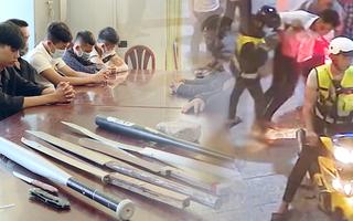 Video: Triệu tập 17 người trong vụ hung hãn chém gục một thanh niên
