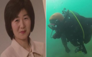 Video: Chồng lặn biển 10 năm tìm vợ mất tích vì sóng thần ở Nhật Bản