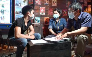 Video: Các quán bia trên đường Phạm Văn Đồng ký cam kết không vi phạm tiếng ồn