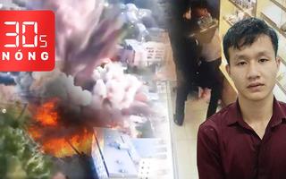 Bản tin 30s Nóng: Bắt cướp đâm người bán điện thoại; Kích nổ bom cả tấn giữa khu dân cư