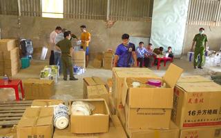 Video: Phát hiện số lượng lớn hàng hóa không rõ nguồn gốc xuất xứ ở An Giang