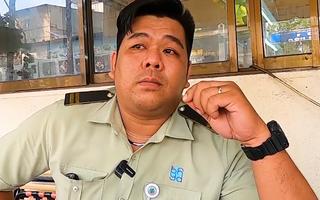 Video: Nhân viên bảo vệ kể lại giây phút nghẹt thở đối mặt với kẻ cướp giết người
