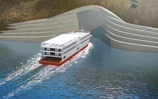 Video: Sắp xây dựng đường hầm tàu thủy đầu tiên trên thế giới