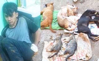 Video: Người dân vây bắt đối tượng sử dụng hung khí đi trộm chó, mèo lúc rạng sáng