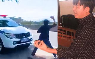 Video: Đưa tài xế ô tô chống đối CSGT đi giám định tâm thần