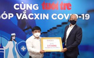 Video: Doanh nghiệp nước ngoài ủng hộ 3 tỉ đồng 'Cùng Tuổi Trẻ góp vắc xin COVID-19'