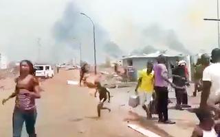 Video: Nổ lớn tại căn cứ quân sự ở Guinea Xích Đạo, hàng trăm người thương vong