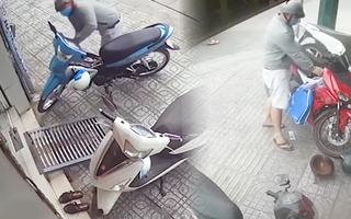 Video: Nam thanh niên trong 45 phút trộm 2 xe máy ở quận Gò Vấp