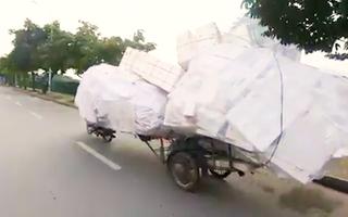 Video: 'Kho hàng di động' tại Hà Nội gây 'sốt' trên trang tin tổng hợp của Anh