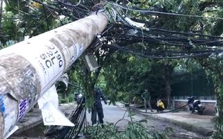 Video: Điện lực giải thích vụ xe tải kéo dây điện không đứt mà cột điện gãy