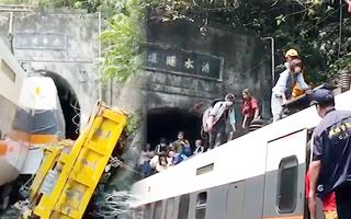 Video: Hiện trường vụ tại nạn thảm khốc ở Đài Loan, đã tăng lên 41 người chết