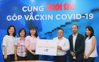 Video: Hà Anh Tuấn ủng hộ 500 triệu đồng 'Cùng Tuổi Trẻ góp vắc xin COVID-19'