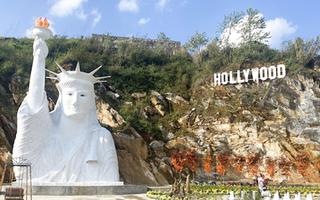 Video: Tạm dừng xây dựng và không đón khách đến điểm check-in có tượng Nữ thần Tự do