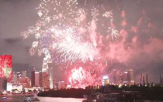 Video: 4 điểm bắn pháo hoa dịp lễ 30-4 tại TP.HCM