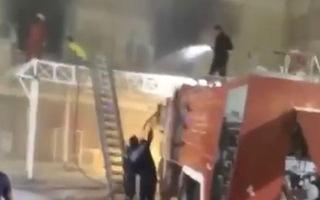 Video: Nổ bình dưỡng khí gây cháy lớn, 27 người thiệt mạng trong bệnh viện ở Iraq
