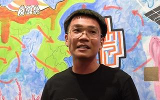 Video: Rapper Wowy dùng máu vẽ tranh kêu gọi bảo vệ môi trường