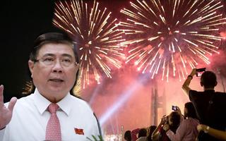Video: Chủ tịch UBND TP.HCM 'không tổ chức bắn pháo hoa', nguy cơ dịch luôn thường trực