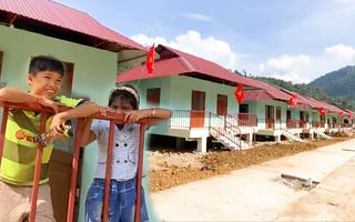 Video: Trà Leng đã có khu tái định cư khang trang