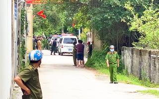 Video nóng: Công an đang vây bắt nghi phạm nổ súng làm 2 người chết ở TP Vinh
