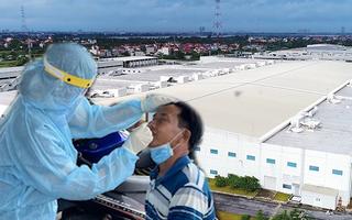 Video: 2 công nhân ở khu công nghiệp Bắc Thăng Long mắc COVID-19