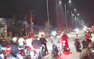 Video: Chặn quốc lộ 51 đua xe bạt mạng, tạm giữ 10 xe môtô 'độ'