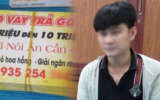 Video: Rải tờ rơi quảng cáo cho vay tiền góp, nam thanh niên bị phạt 10 triệu đồng