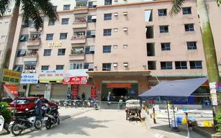 Video: Cách ly tòa nhà 1.500 dân vì có ca dương tính liên quan Bệnh viện K Tân Triều
